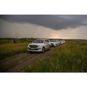 Клиенты «Балтийского лизинга» освоили внедорожную трассу Go Fishing в Воронежской области
