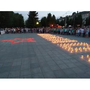 Сотрудники Мариэнерго приняли участие в акции «Свеча Памяти»