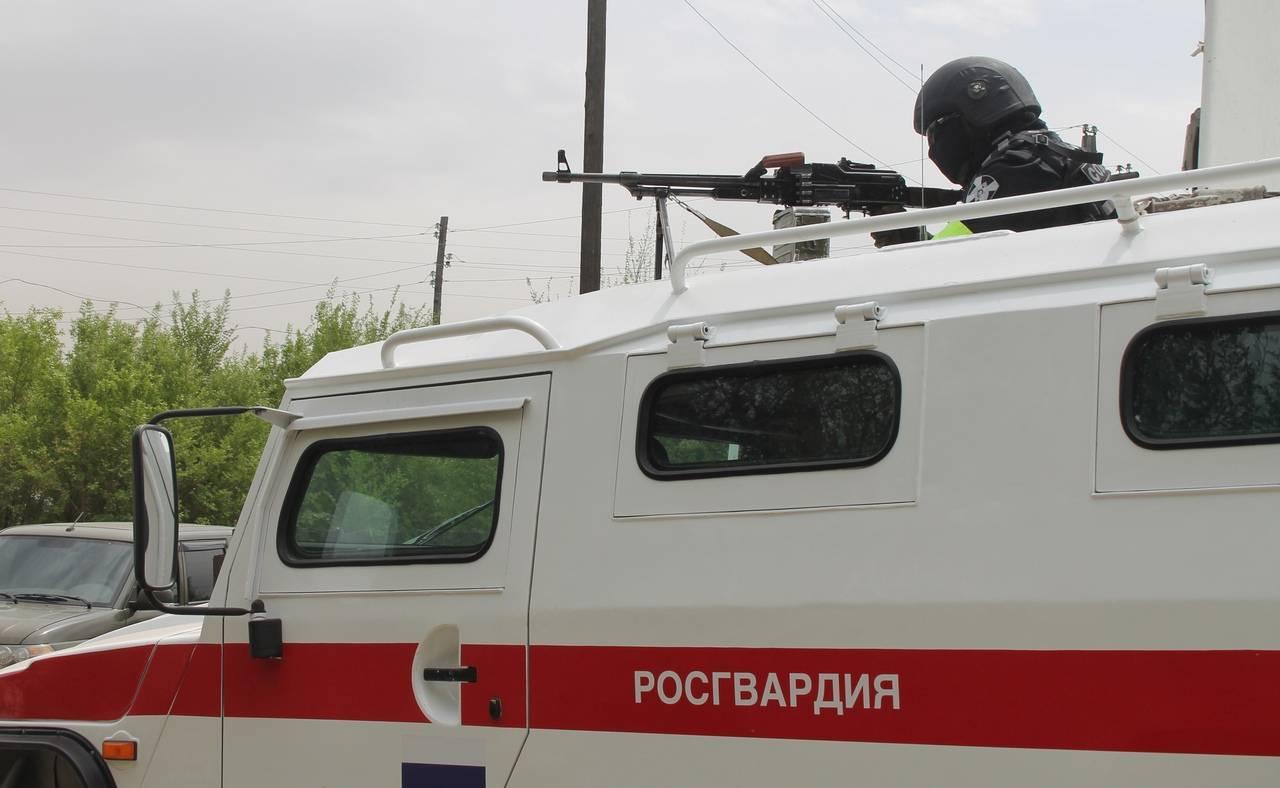 Росгвардия приняла участие в  антитеррористическом учении оперативного штаба в Республике Тыва
