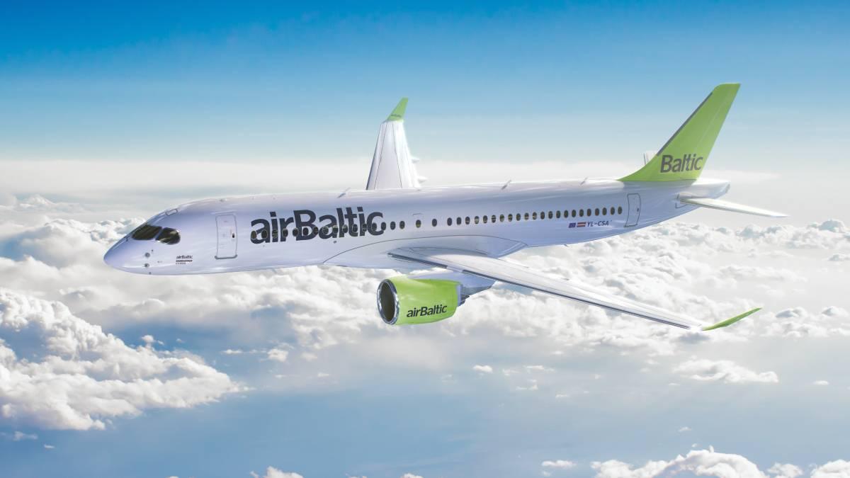 Полёты airBaltic из Риги