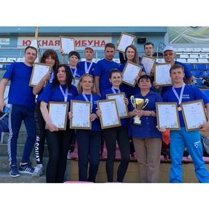 Костромская область – победитель макрорегионального этапа почтовой спартакиады в Калуге