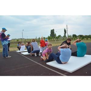 Семьи сотрудников Воронежского филиала «Евроцементгруп» приняли участие в спортивном празднике
