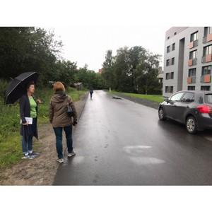 ОНФ в Республике Карелия призвал власти Петрозаводска решить проблему опасного переулка