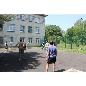 В больнице состоялся летний турнир по волейболу