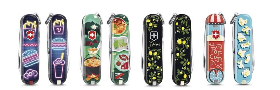 Food of the World: лимитированная серия ножей-брелоков от Victorinox