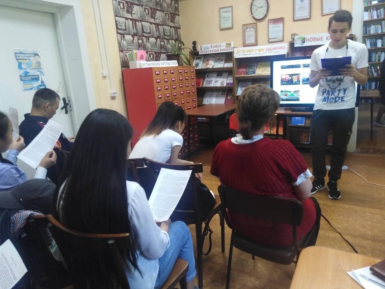В Туве продолжается видеомарафон «Читаем записки графа Комаровского»