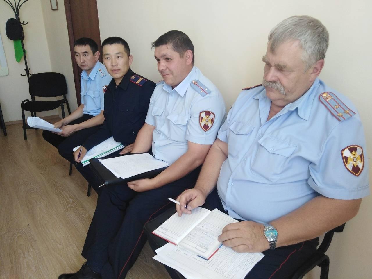 ФГКУ «ОВО ВНГ России по Республике Тыва» подвели итоги деятельности за первое полугодие 2019 года