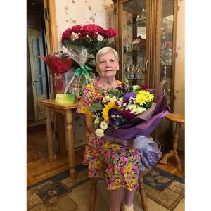 ПАО «ТНС энерго Кубань» поздравило ветерана с 93-летием