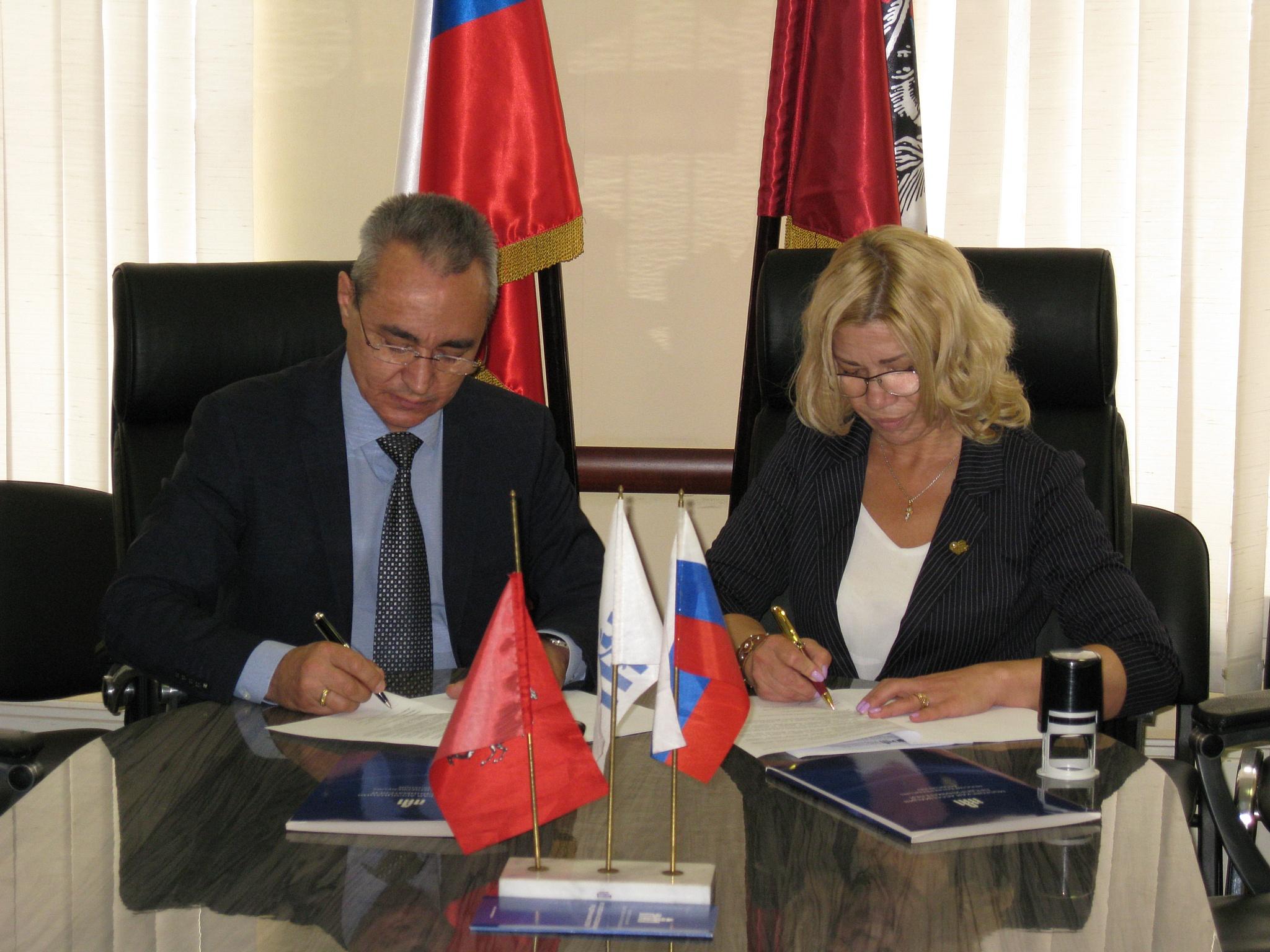 Соглашение между КБК МОО МАП и КПР Президента России