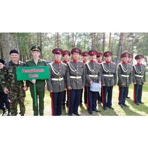 Казачий класс из Тувы стал призером межрегионального смотра-конкурса