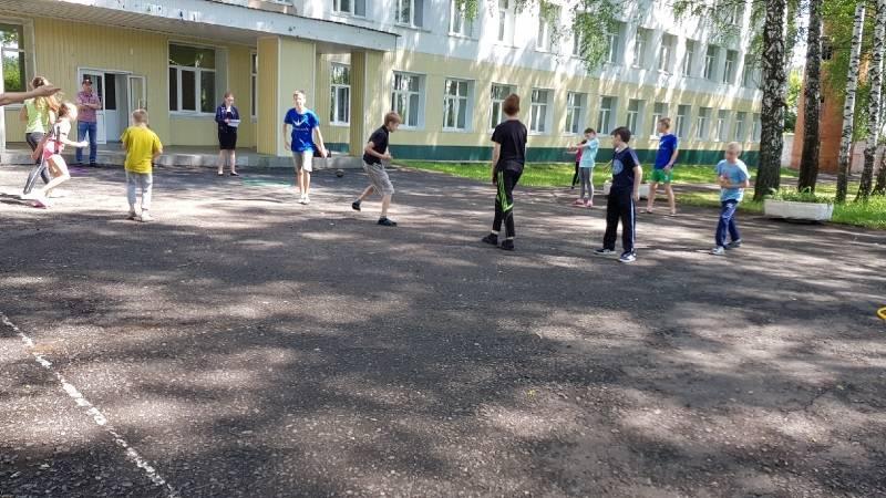 Активисты ОНФ Мордовии организовали для сельских детей веселые игры