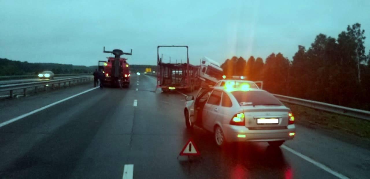 Дорожники просят водителей быть внимательными на федеральных трассах