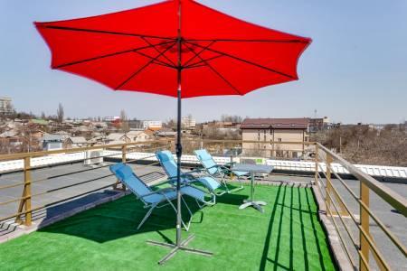 Квартиры с зоной отдыха на крыше в Ростове