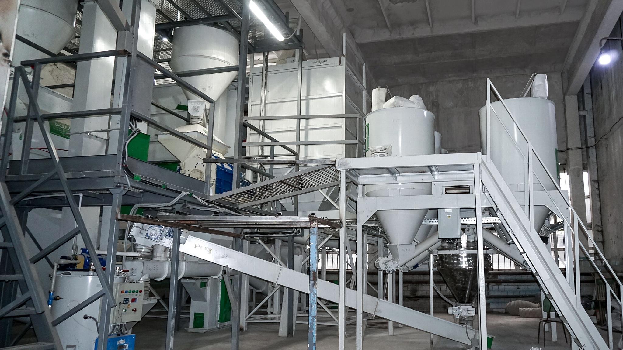 В Ульяновской области введен в эксплуатацию новый комбикормовый завод
