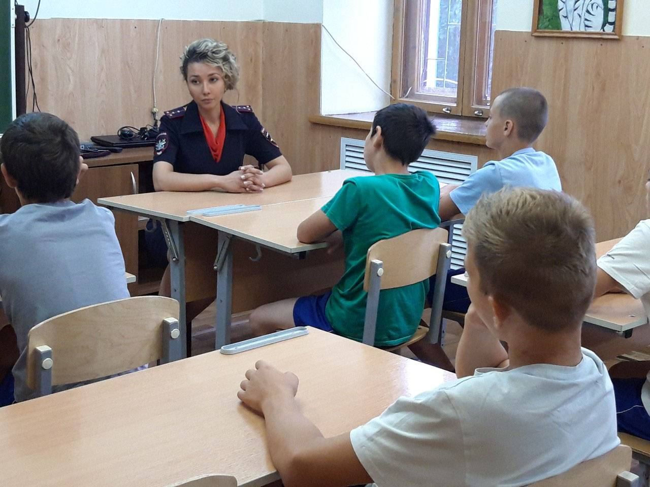 В Волгограде проведена профилактическая беседа с несовершеннолетними