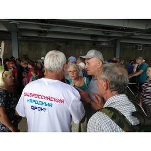 ОНФ в Волгоградской области добился оптимизации маршрута для дачников с острова Сарпинский