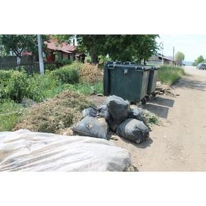 ОНФ Мордовии призывает городские власти Рузаевки привести в порядок контейнерные площадки