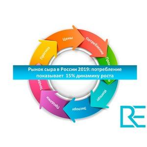 Рынок сыра в России 2019: потребление показывает  15% динамику роста