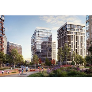 Интеко построит жилой комплекс West Garden в районе Раменки ЗАО Москвы