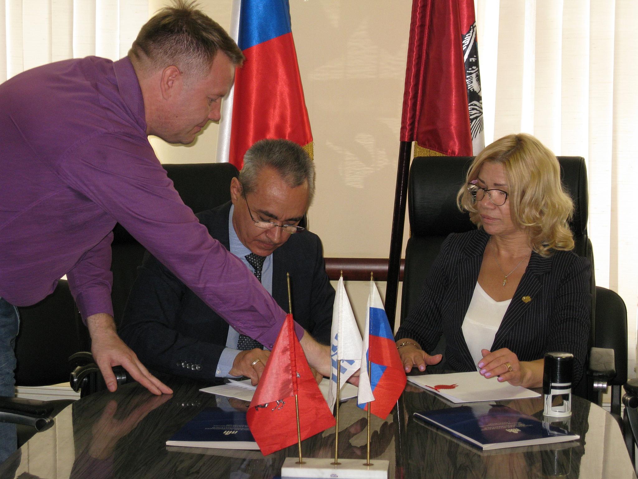 Подписано соглашение между КБК МОО МАП и Комитетом поддержки реформ Президента России
