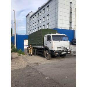 Тыва подключилась к акции по сбору гуманитарной помощи для жителей Иркутской области