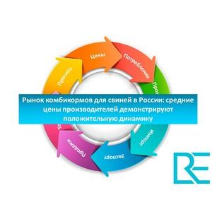 Рынок комбикормов России: цены производителей демонстрируют положительную динамику