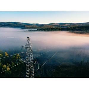 В Иркутской области введен в работу новая ЛЭП от Усть-Илимской ГЭС