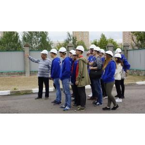 Студенты энергетических отрядов Липецкэнерго знакомятся с работой электросетевого комплекса