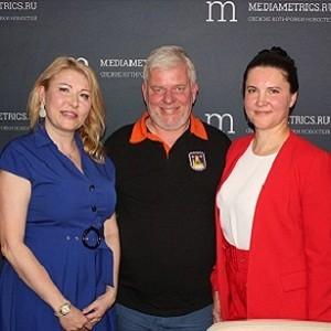 Программа «Бизнес и творчество» стартовала на канале «Медиаметрикс»