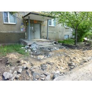 Активисты ОНФ направили властям Нововоронежа замечания по благоустройству дворов