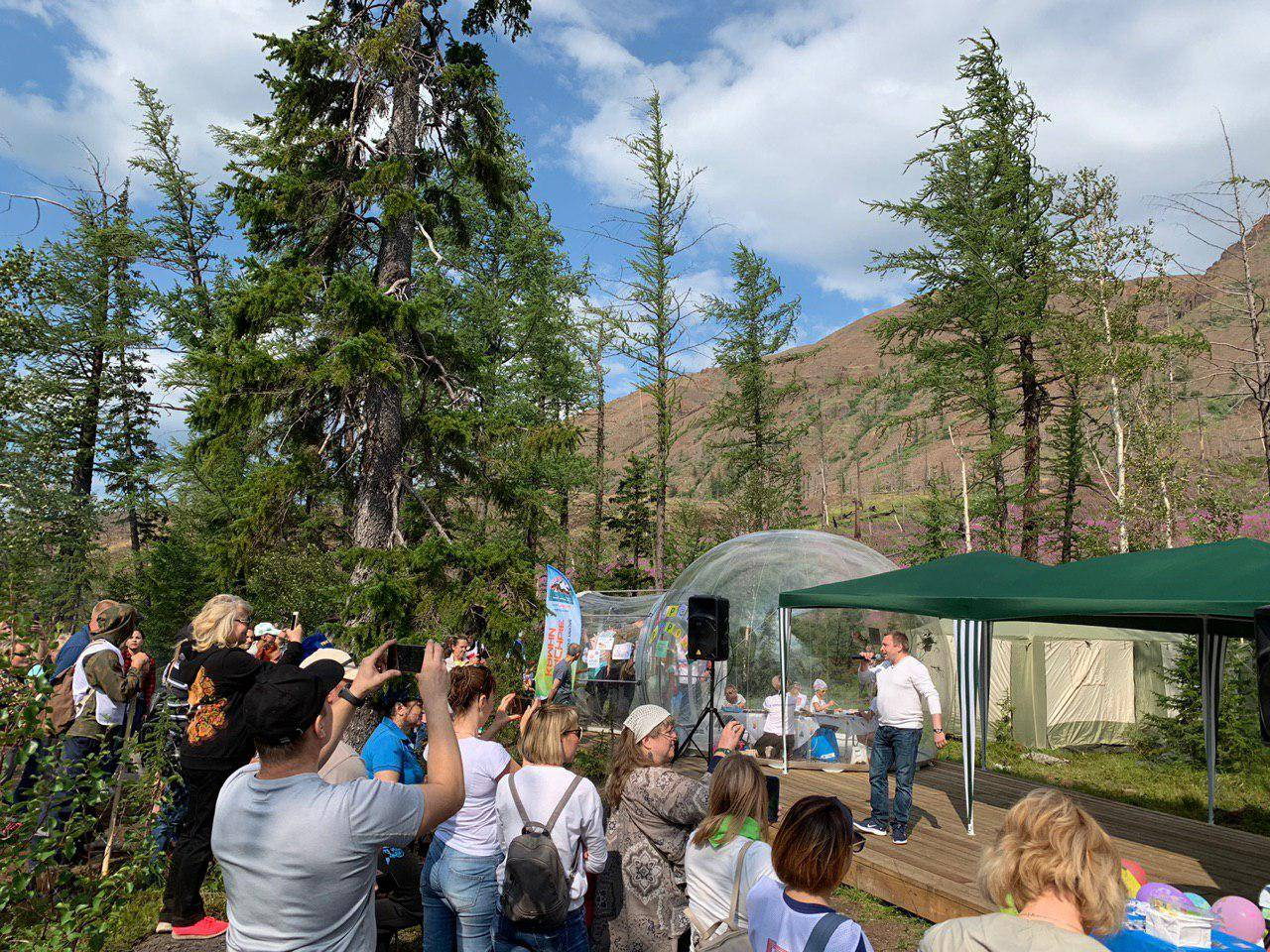 В Норильске открылся Центр экотуризма «Красные камни».