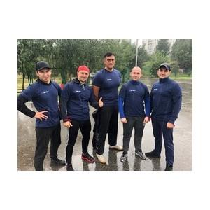Спортсмены «Аганнефтегазгеологии» приняли участие в забеге
