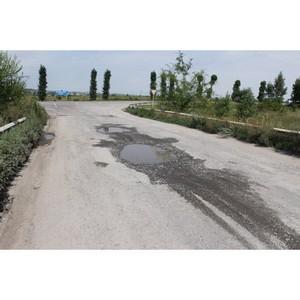 ОНФ в Воронежской области призвал отремонтировать дорогу в поселок Колодезный