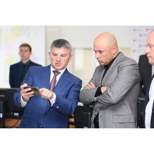 Игорь Маковский и Игорь Артамонов обсудили цифровизацию электросетевого комплекса региона