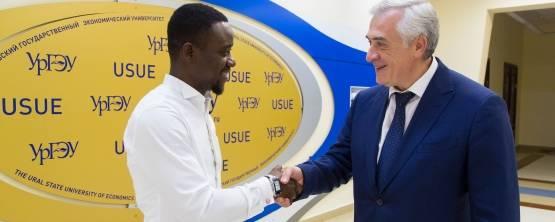 Дипломат экваториальной Гвинеи – выпускник УРГЭУ