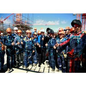 Свыше 3000 строителей заняты на сооружении энергоблоков Курской АЭС-2