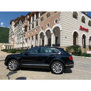 Bentley Краснодар провел роскошный уик-энд на побережье для клиентов марки