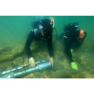Магистранты-археологи СевГУ обследовали затонувший античный город близ Керчи