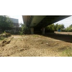 Активисты ОНФ ликвидировали свалки строительного и бытового мусора на Шоссе Энтузиастов