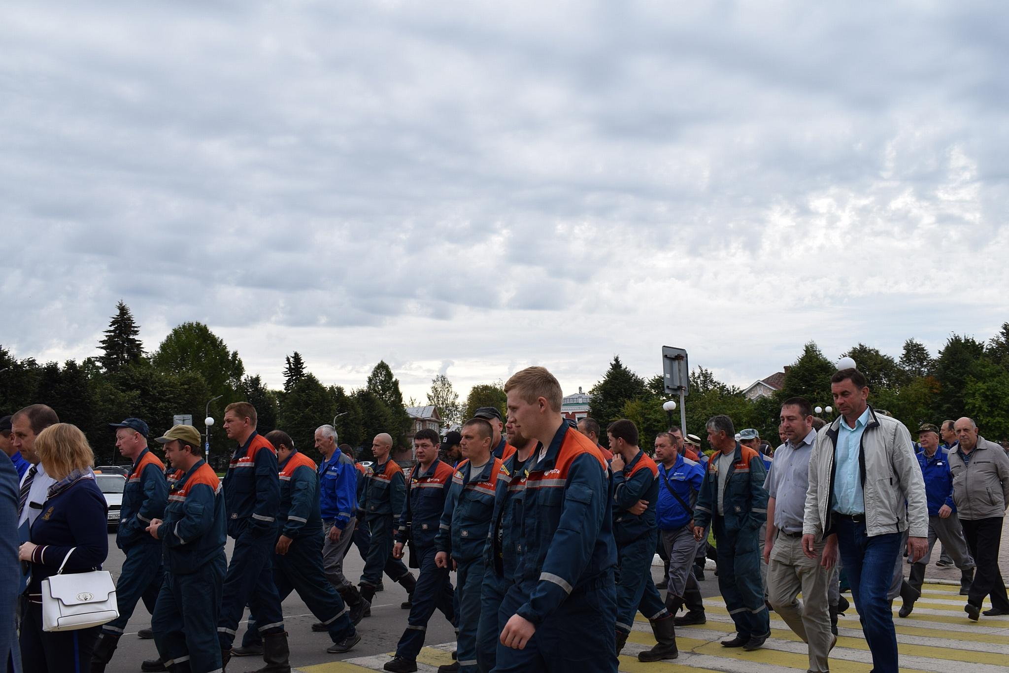 Костромаэнерго: противоаварийные учения в Буйском районе прошли успешно