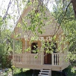 Дачные домики от компании Vesta