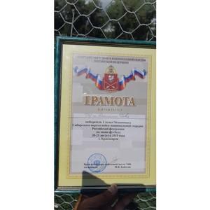 Футболисты Росгвардии Тувы выиграли первый этап чемпионата СибО по мини-футболу