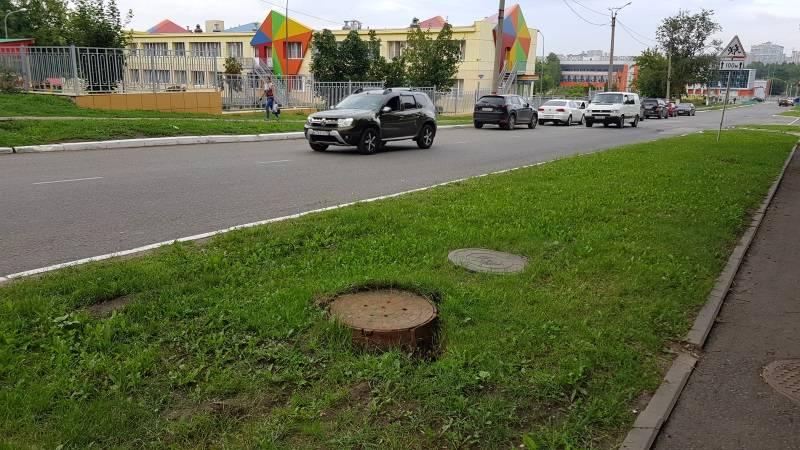 В Саранске привели в порядок опасный канализационный люк