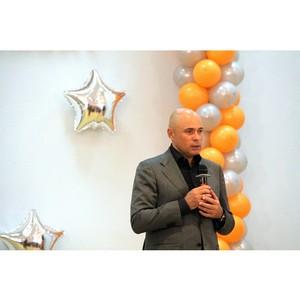 Врио губернатора Игорь Артамонов поздравил работников «Липецкцемента» с Днем строителя