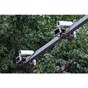 Места размещения дорожных камер отметили на ГИС Кировской области