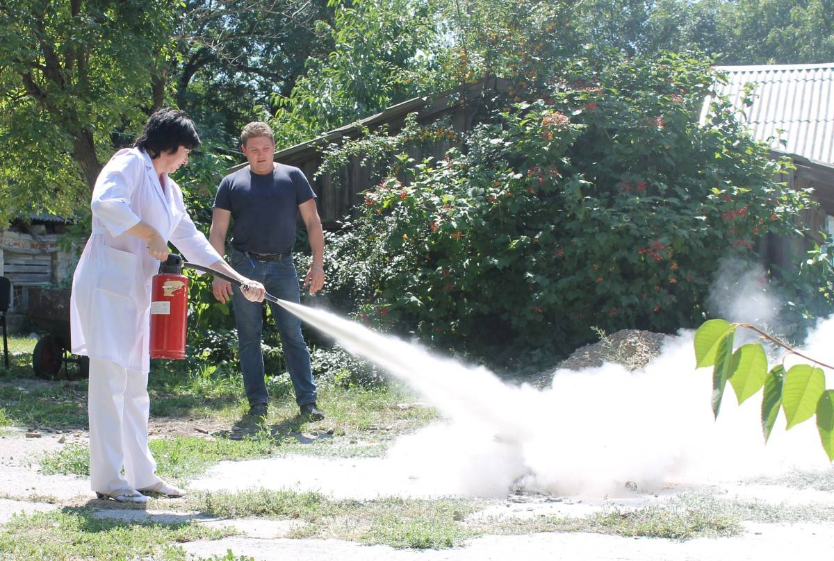 В Ставропольской психиатрической больнице прошли пожарно-тактические учения