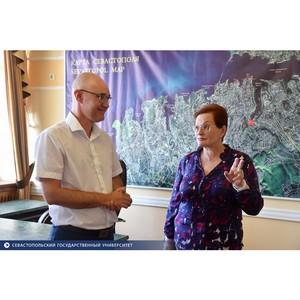 Отношения между СевГУ и вузами Томска получат новое развитие