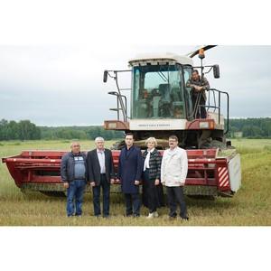 Агрохолдинг «Союз Маринс Групп» наградили за рекордные объёмы при заготовке кормов