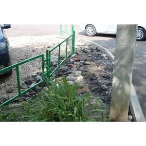 Активисты ОНФ в Мордовии обнаружили нарушения, допущенные при благоустройстве дворов в Саранске