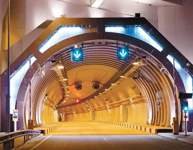 Освещение для тоннелей